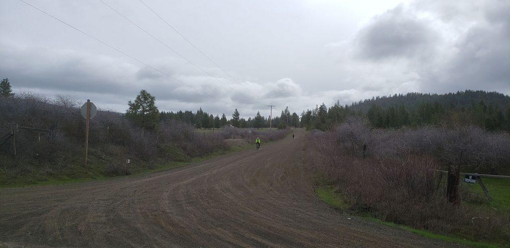 gravel riders on a gravel ride