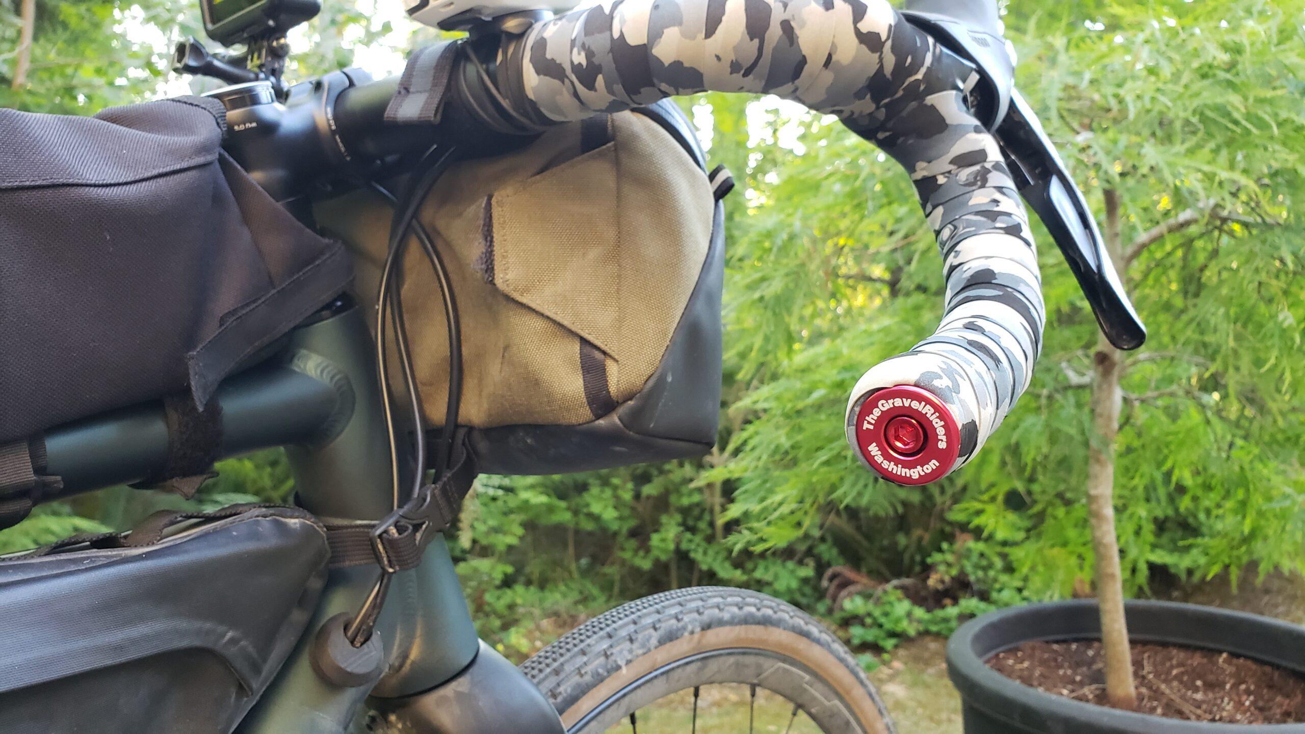 bike handlebars with custom bar ends